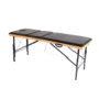 Раскладной деревянный массажный стол с регулировкой высоты Престиж Плюс
