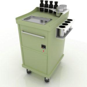Дополнительный модуль Hot с подогревом и утилизацией инструментов.