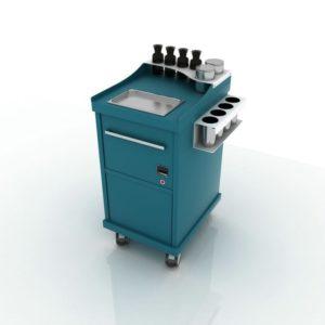Дополнительный модуль Hot с подогревом и утилизацией инструментов