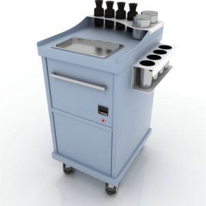 Дополнительный модуль Hot-L с подогревом и утилизацией инструментов.