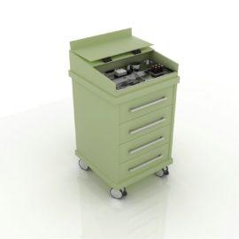 Дополнительный модуль MOBIL с 4-мя ящиками