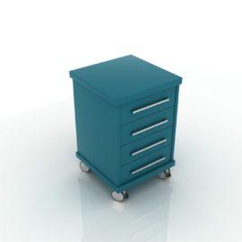 Дополнительный модуль MOBIL-U с 4-мя ящиками
