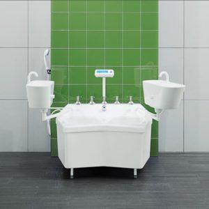 Камерные ванны для терапии верхних и нижних конечностей Unbescheiden