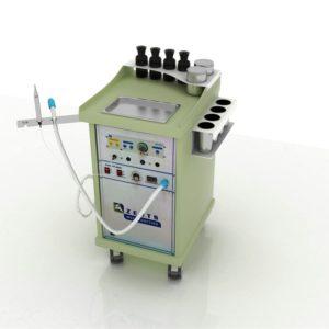 Компактная установка ENERGY с радионожом BM780 (Германия) и аспиратором дыма.