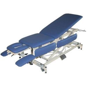 Массажный стол с электроприводом на X-раме ULTRA - MX (Fysiotech)