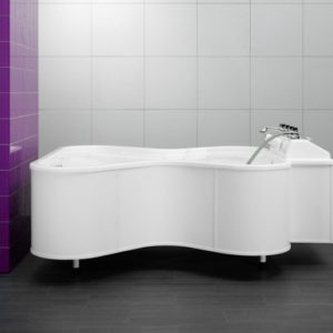 Медицинская ванна в форме «Бабочки» Unbescheiden