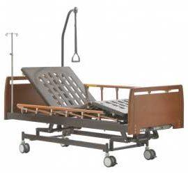 Медицинская кровать MM-25 (3 функции), бук