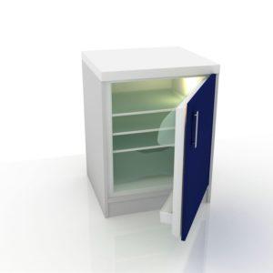 Модуль медицинский с холодильником 102-003 Х