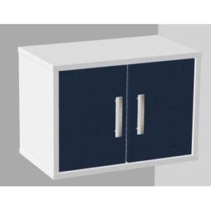 Модуль подвесной с дверцами, полками (глухие дверцы) 104-002-1