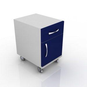 Модуль с дверцей, вверху один ящик 202-002-2