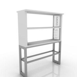 Надстройка приставки стола лабораторного 203-003-1/2/3-KR/KO