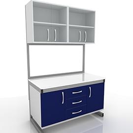 Подвесные модули для лабораторного стола