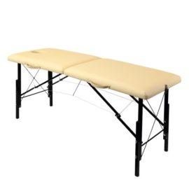 Раскладной деревянный массажный стол с регулировкой высоты WhN185