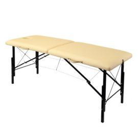 Раскладной деревянный массажный стол с регулировкой высоты WhN190