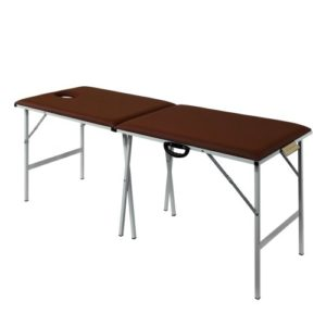 Раскладной массажный стол со стальным каркасом M185