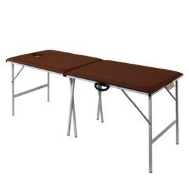 Раскладной массажный стол со стальным каркасом M190