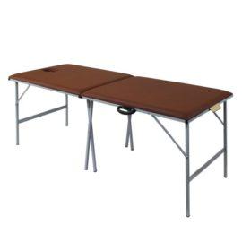 Раскладной массажный стол со стальным каркасом M195