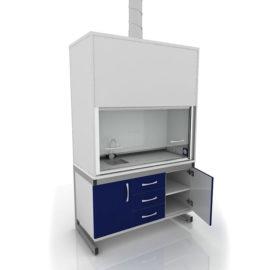 Шкаф вытяжной, химически стойкий 205-002-1-2000/2100