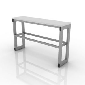 Стол лабораторный приставной 201-003-3-750/850