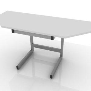Стол лабораторный торцевой 201-004-1-750/850