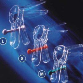 Зеркало гинекологическое по Куско одноразовое прозрачное, стерильное, S, M, L