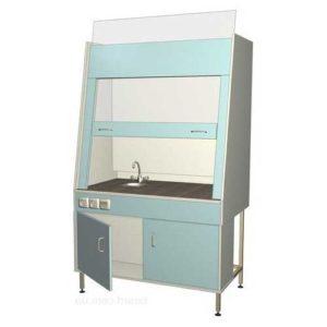 Шкаф вытяжной лабораторный с сантехникой 096.01-У
