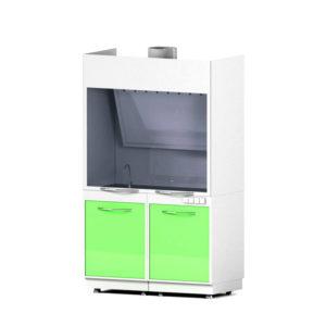 Шкаф вытяжной закрытого типа AR-LV2 (Металл в полимере)