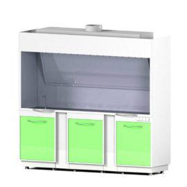 Шкаф вытяжной закрытого типа AR-LV4 (Металл в полимере)