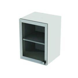 Шкаф навесной (настенный) одностворчатый, с стеклянной дверкой М-ШНс-40