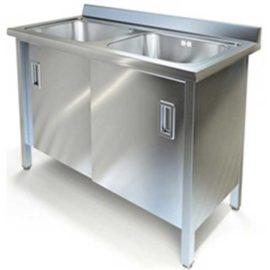 Стол специализированный (ванна моечная) МВТК (1200*600*850, с двум мойками)