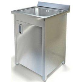 Стол специализированный (ванна моечная) МВТК (600*600*850, с одной мойкой)