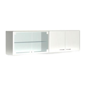 Шкаф медицинский навесной с металлическими дверями L 032