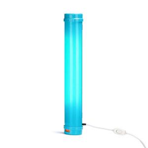 Облучатель-рециркулятор медицинский «Armed» СH111-115 с индикатором наработки ламп (пластиковый корпус, голубой)