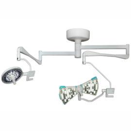 Хирургический потолочный двухблочный светильник Аксима- СД-160/100