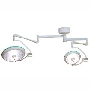 Хирургический потолочный двухблочный светильник Аксима-720/520