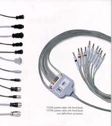 Кабели пациента для ЭКГ с закрепленными проводами