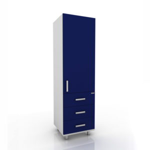 Модуль шкаф (Верх глухой/низ 3 ящика) 102-005-5