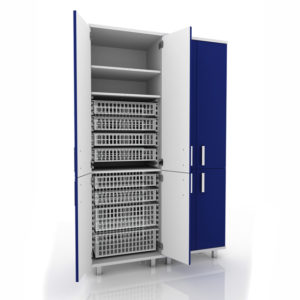 Шкаф для медикаментов для поста медсестры 105-004-18