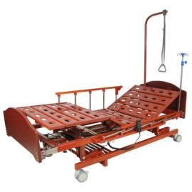 Медицинская кровать с электроприводом и аккумулятором MM-166HА