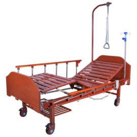 Кровать электрическая DB-7 MM-077Н (МЕ-2028Н-10) с полкой и накроватным столиком