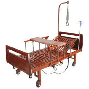 Кровать электрическая YG-3 (ММ-092Н) с боковым переворачиванием, туалетным устройством и функцией «кардиокресло»