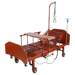 Кровать электрическая YG-3 (ММ-092ПН) с боковым переворачиванием, туалетным устройством и функцией «кардиокресло»