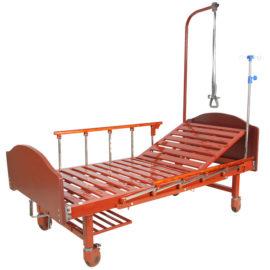 Медицинская кровать E-17B ЛДСП (1 функция)