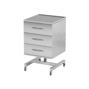 Столик AT-B33.3 (Нержавеющая сталь)