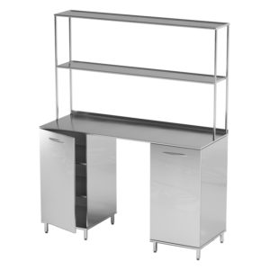 Стол лабораторный AR-L01N (Нержавеющая сталь)