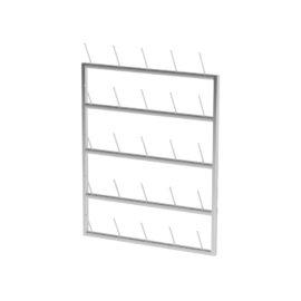 Шкаф открытого типа-стеллаж сушильный AR-LE (Нержавеющая сталь)