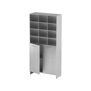 Шкаф-стеллаж для одноразовой одежды AT-S010 (Нержавеющая сталь)