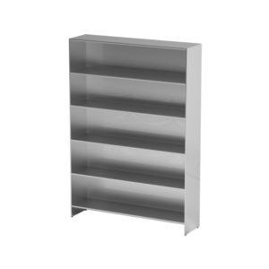 Шкаф-стеллаж для одноразовой одежды AT-S013 (Нержавеющая сталь)
