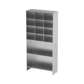 Шкаф-стеллаж для одноразовой одежды AT-S07 (Нержавеющая сталь)