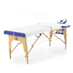 Массажный стол складной деревянный JF-AY01 3-х секционный